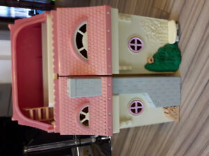Fisher Price Pink Mansion Loving Family Dollhouse