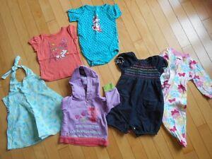 Lot de vêtements fille-12 mois-PETIT BUDGET