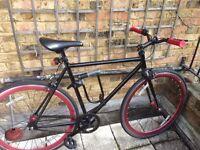 Vilano Rampage Fixed Gear Fixie Single Speed Road Bike & Accessories