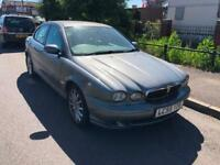 55 REG JAGUAR X-TYPE 2.0D CLASSIC-PX CAR SOLD AS SPARES OR REPAIRS-DRIVES WELL
