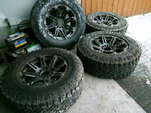 LT275/70/R18 Tires on Aluminum Rims (USA made)