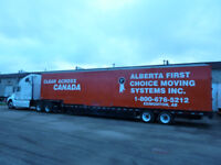 Alberta First Choice Moving Systems Inc.