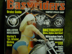 EASYRIDERS MAGAZINE COLLECTION: 80 Mags total - GREAT SHAPE!