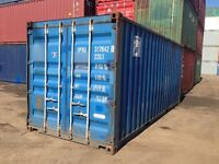 20' sea shipping containers for sale/storage/steel box