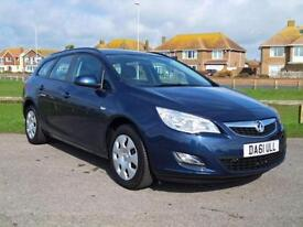 2012 61 VAUXHALL ASTRA 1.4 EXCLUSIV 5 DOOR 98 BHP ESTATE