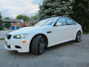 2008 BMW M3 Sedan 6spd manual