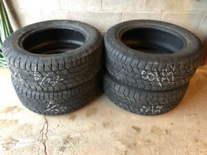 4 Hankook Dynapro ATM P275/55R20 113T tires $450 or best offer