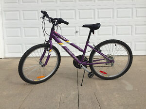 Great 12 speed bike for girls ages 7 - 12