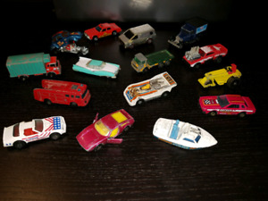 Vintage Die cast cars from the 1970s