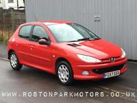 2007 PEUGEOT 206 1.4 Look 5dr just 47k miles just arrived