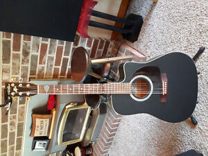 Art and lutherie, with hard shell case