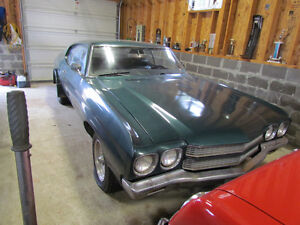 1970 Chevrolet Chevelle 454  Automatic Green