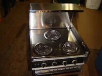 Marine  stainless steel electric stove