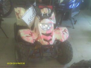 Atv $600.00  Dirt Bike $750.00  Pocket Bike $250.00