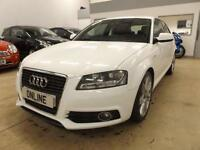 AUDI A3 TDI S LINE, White, Manual, Diesel, 2011