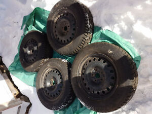 winter tires with rims (4)