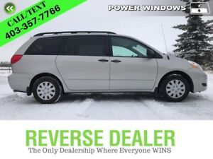 2010 Toyota Sienna CE  Low mileage, full passing inspection, 7 P