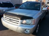 2003 Toyota HIGHLANDER LIMITED FULL EQUIP, SUNROOF