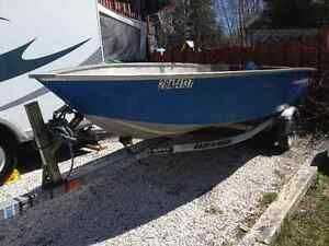 14 foot princecraft Yukon / 15 hp Johnson/ trailer