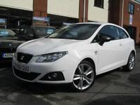 2011 61-Reg Seat Ibiza 1.2 SportCoupe Sportrider,1 OWNER,ALPINE WHITE,MUST SEE!!
