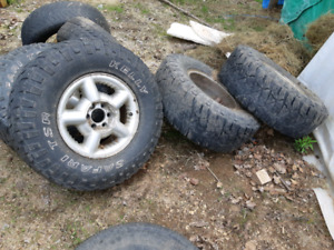 31 inch tires on 15 inch 6 bolt dodge rims