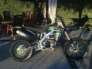 2008 kawasaki kxf 250 monster edition