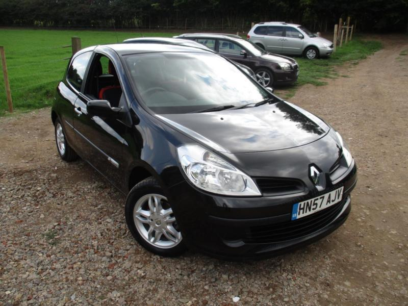 2007 renault clio rip curl 16v black 3 door hatchback petrol thinkcar. Black Bedroom Furniture Sets. Home Design Ideas