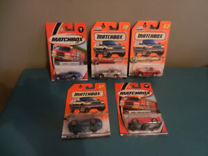Matchbox 1:64 Dodge Viper Lot of 5 Various Cars