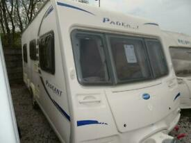 BAILEY PAGEANT BORDEAUX 2008 MODEL 4 BERTH FIXED BED TOURING CARAVAN