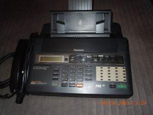 PANASONIC KX-F110 - téléphone - répondeur - fax
