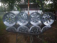 5 mags chromé en acier
