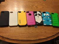 7 Assorted iPhone 5/5s Cases!