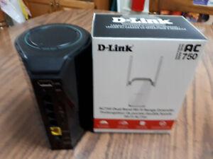 Dlink router and dlink wifi range extender