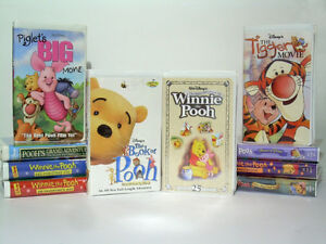 Disney's Winnie The Pooh Movie Collection - VHS