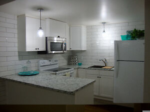BRIGHT newly Renovated 2 Bdrm BASEMENT - Utilities Included!