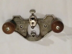 Working Vintage Stanley #71 router plane