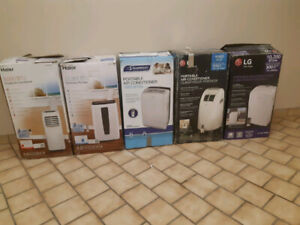 5-Like New-Portable Air Conditioners-READ & INDICATE YOUR CHOICE