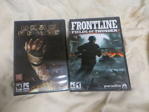2 X PC games: Dead Space + Front Line/Field of Thunder