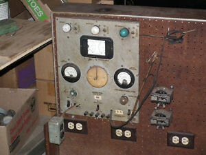 ELECTRIC TEST METERS AND SWITCHES FOR MOTOR REWINDING