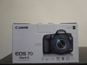 Canon Mark 7D ii brand new in the box