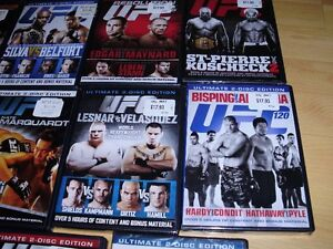 "15 UFC dvds ***BRAND NEW*** trade for 17"" Rims and Tires"