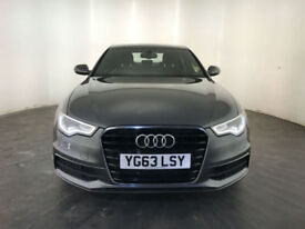 2013 63 AUDI A6 S LINE TDI DIESEL AUTOMATIC 1 OWNER SERVICE HISTORY FINANCE PX