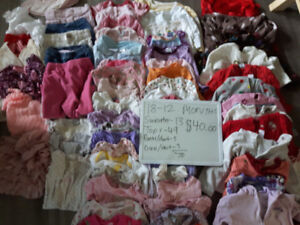 Girls kids and baby clothes 18 month to 3T
