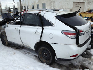 2014 Lexus rx350 for parts only 8KM