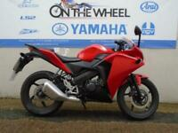HONDA CBR 125 R *** IN A FINESSE CANDY RED*** ***SERVICE HISTORY***