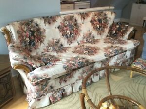 Sofa ,Chair and End Tables for sale .