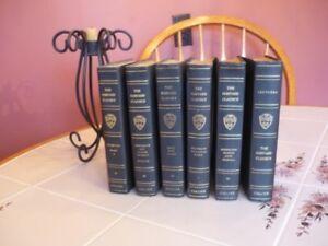 Full set of Harvard Classics, first edition, 1909-