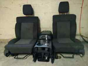 Ford f150 seats and console