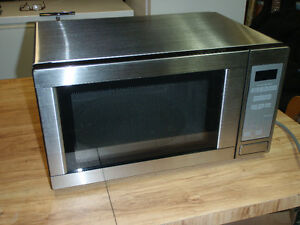 Micro-ondes inoxydable / microwave stainless steel