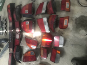 Lot de lumiere arriere acura honda civic